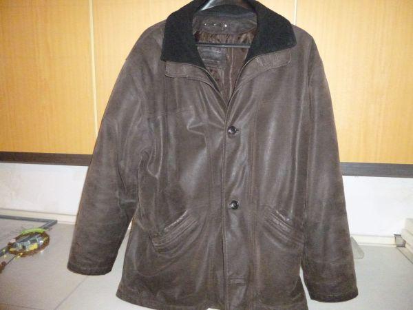 Herrenkleidung Lederjacken verschiedene Herren Jacken
