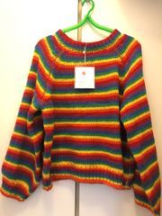 Stylish rainbow Pullover
