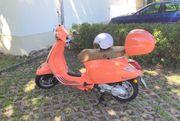 Vespa Primavera 50 4T orange