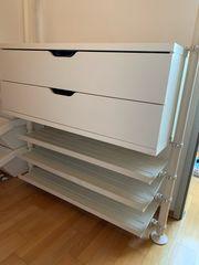 Ikea Regal mit Schuhablage