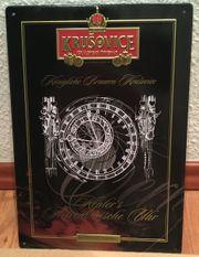 Blechschild Brauerei Krusovice - Kepler s