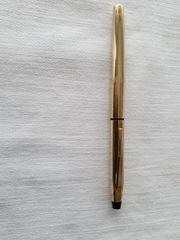 Alter Füller Cross mit vergoldeter