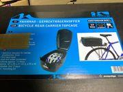 Weihnachten M-Wave Fahrradgepäckträgerkoffer 17 Liter