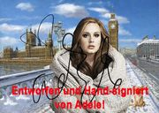 ADELE London Original Foto Selfie
