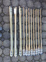 Gartenfackeln 14 Fackeln NP 50EUR