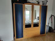 Kleiderschrank 4-türig mit Drehtüren 200