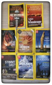 National Geographic Magazine - 8 Stück