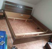 Bett Doppelbett Schlafzimmer Ehebett