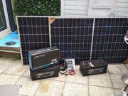 Solaranlage Komplettpaket 24 Volt 230