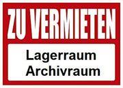 Vermiete 32qm Abstellraum Archivraum Lagerraum