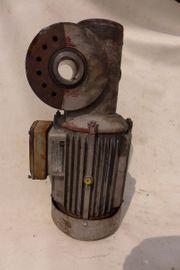 Elektromotor m Getriebe f Dreiphasenwechselstrom