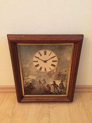 Bild mit Uhr in altem