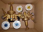 Zinser Druckminderer für Sauerstoff und