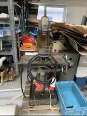 Deckel Fräsmaschine mit Zubehör