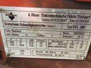 Schweissgerät MIG Röwag 300 Ampere