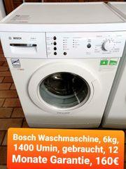 Bosch Waschmaschine 6kg 1400 Umin