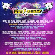 Frequency Festivalpässe 3x inklusive campen