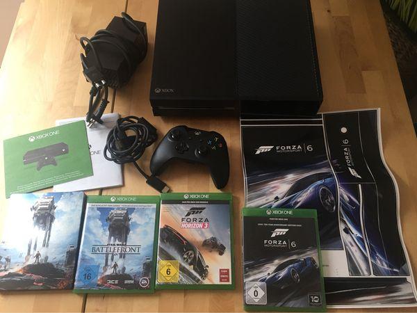 Verkaufe Xbox One 500GB Schwarz