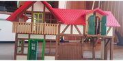 playmobil große Bauernhof silo hasenstal