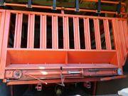 Aufbau Ladewagen