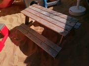 Kinder Sitzgarnitur Sitzbank und Tisch