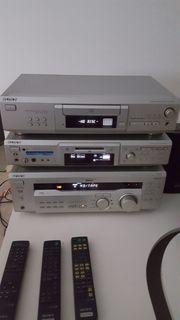Sony Hi-Fi Anlage MD CD