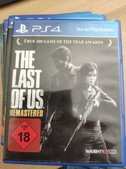 PS4 Spiel The last of us