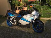 Rarität blaue BMW K 1200