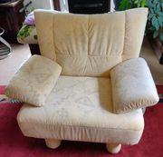 Couchgarnitur Zweisitzer Sessel