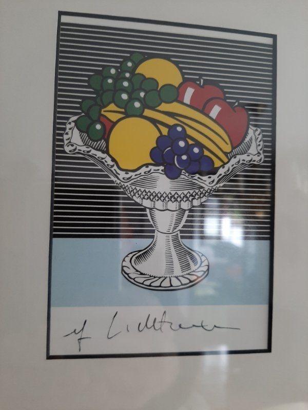 Roy Lichtenstein handsigniert