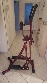 Crosstrainer mit LCD Display Stepper