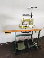 Industrienähmaschine für Saum von Rimoldi