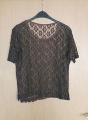 Shirt Netz braun Größe 40