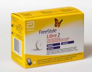 3 Stk FreestyleLibre2-Sensoren