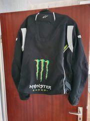 Mottoradjacke Monster