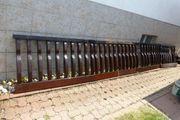 Balkongeländer Holz vom Weber Haus