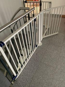 Bild 4 - Geuther Treppenschutzgitter Konfigurationsgitter für Treppe - Obersulm