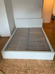 Ikea Malm Bett Weiß 140x200