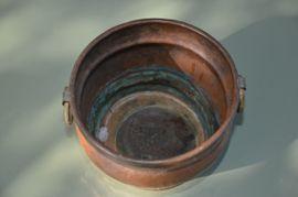 Bild 4 - Kupfer Topf mit seitlichen Griffen - Reutlingen