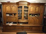 Wohnzimmer Schrank Rustikal Eiche