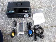 Beamer Acer P1266 lichtstark wie