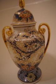 China Porzellan Vase mit Deckel