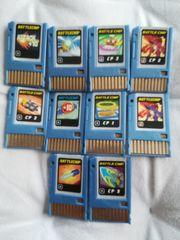 10 x Megaman Battlechip Battle