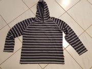 Ringel-Wende-Sweatshirt der Marke fit-z Gr