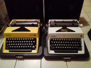 2 Schreibmaschinen Olympia