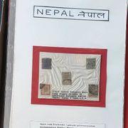 Briefmarken Blöcke aus Nepal und
