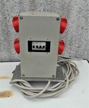 Verteilerkasten für Strom u Druckluft