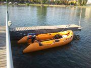 Schlauchboot Segel Motor