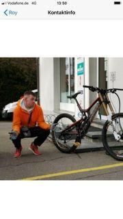 Downhillbike Santa Cruz V10 carbon