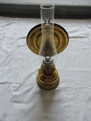 Messing Petroleumlampe